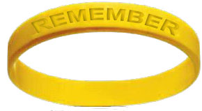 "Set of 10 ""Remember\"" Bracelets"